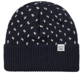Norse Projects Norwegian Birdseye Beanie by End.