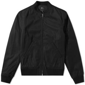 A.P.C. Zip Bomber Jacket