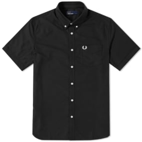 Fred Perry Short Sleeve Classic Oxford Shirt by Fred Perry Authentic