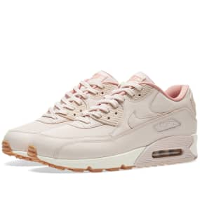aee61616f967 Nike Air Max 90 Leather W (Silt Red   Sail)