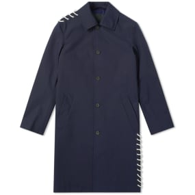 Craig Green Laced Bonded Long Coat by Craig Green