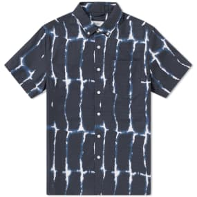 Saturdays Nyc Short Sleeve Esquina Water Stack Shirt by End.