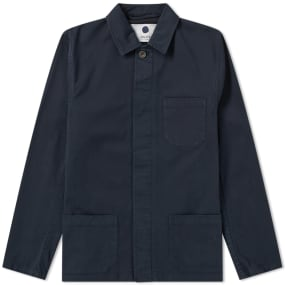NN07 Garment Dyed Oscar Chore Jacket