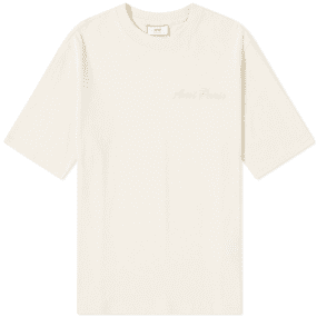 AMI Embroidered Logo Tee