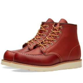 "Red Wing 8131 Heritage Work 6"" Moc Toe Boot"