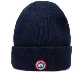 Canada Goose Merino Wool Watch Cap (Navy)  85125b357a4