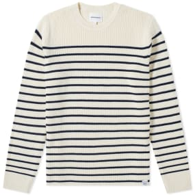 Norse Projects Verner Normandy Cotton Stripe Crew Knit