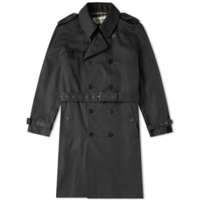 Saint Laurent Belted Trench Coat by Saint Laurent
