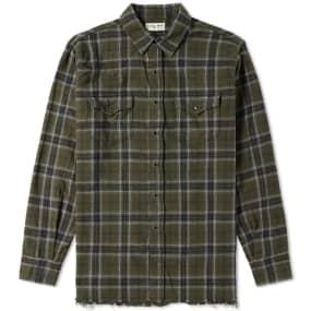 Saint Laurent Check Western Shirt by Saint Laurent