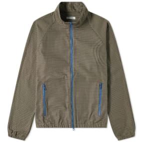Très Bien Houndstooth Check Warm Up Jacket