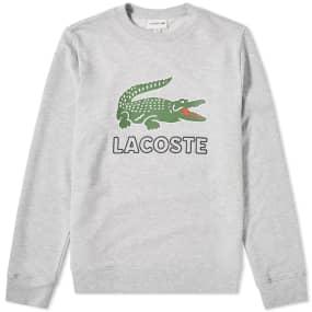 Lacoste Big Croc Logo Sweat