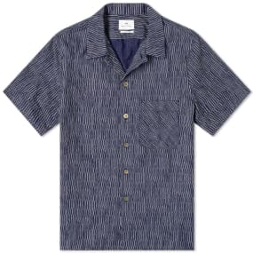 Paul Smith Cellular Print Vacation Shirt