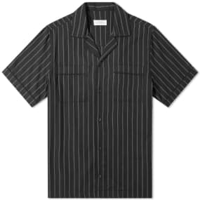 Saturdays NYC Cameron Stripe Vacation Shirt