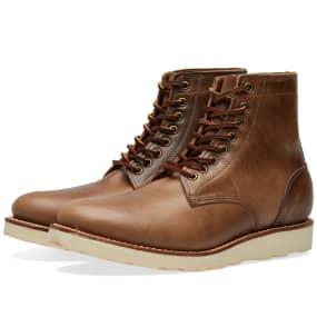 Oak Street Bootmakers Vibram Sole Trench Boot by Oak Street Bootmakers