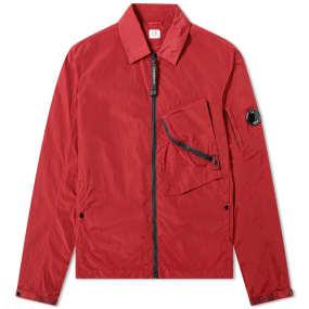 C.P. Company Arm Lens Chrome Nylon Shirt Jacket