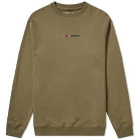 Maharishi Long Redacted Miltype Crew Sweat by End.