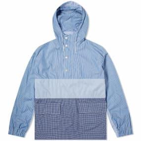 Comme des Garcons Homme Cotton Check & Stripe Jacket
