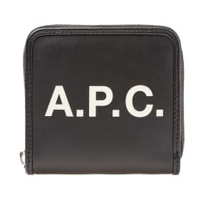 A.P.C. Morgan Logo Wallet by End.