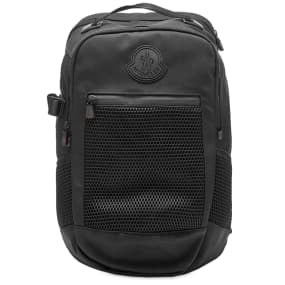 Moncler Canvas & Mesh Hiking Backpack