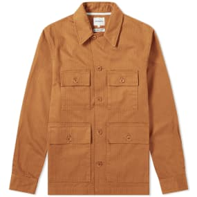 Norse Projects Mads Herringbone Shirt Jacket