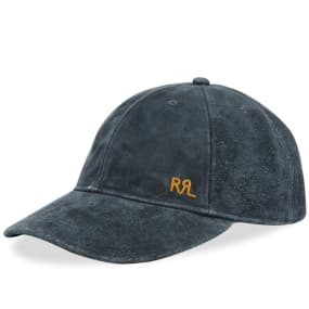 RRL Rough Out Ball Cap