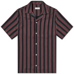 Saturdays Nyc Short Sleeve Canty Stripe Vacation Shirt by End.