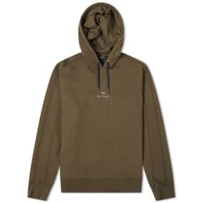 Paul Smith Garment Dyed Logo Hoody