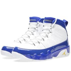 low priced 6d8f7 cff2d Nike Air Jordan 9 Retro  Tour Yellow  (White, Concord   Tour Yellow)   END.