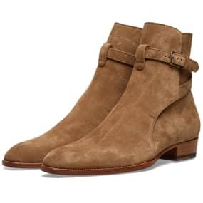 Saint Laurent Wyatt 30 Jodhpur Boot