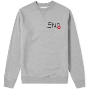 End. X Wood Wood Tye Logo Sweat by End.