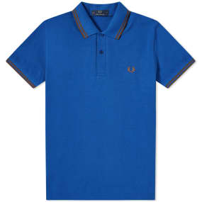 Fred Perry Reissues Original Twin Tipped Polo by End.