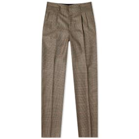 Lanvin Gun Check Slim Trouser