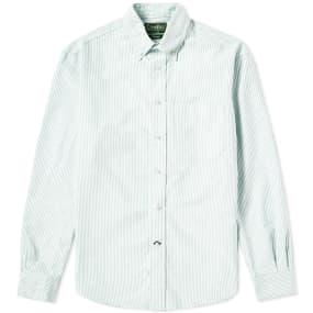 Gitman Vintage Button Down Stripe Oxford Shirt