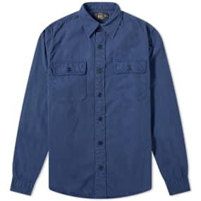 RRL GI Military Shirt