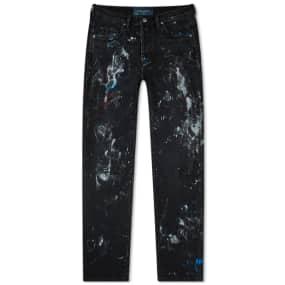 Lost Daze Straight Leg Painter Jean