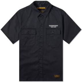Neighborhood Short Sleeve Classic Work Shirt