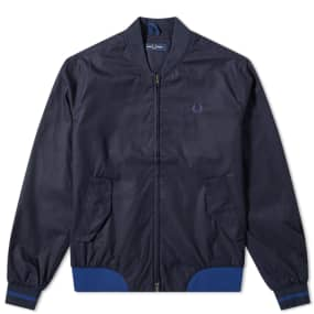 Fred Perry Authentic Twill Bomber Jacket