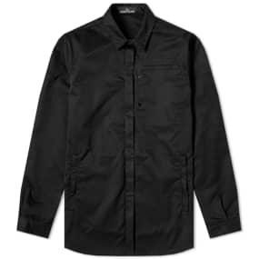 Stone Island Shadow Project Poly Optima Heavy Twill Overshirt