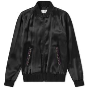 Saint Laurent Beaded Teddy Jacket