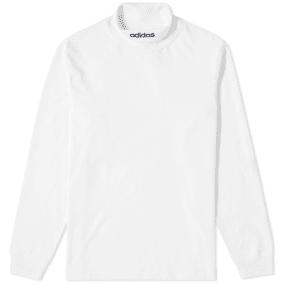 Adidas Long Sleeve Hi Collar Tee by Adidas