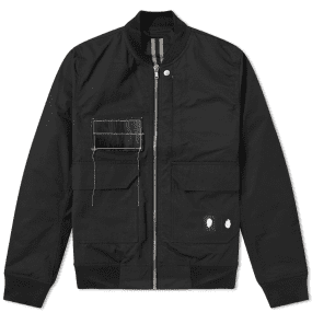 Rick Owens DRKSHDW COP Patch Flight Jacket