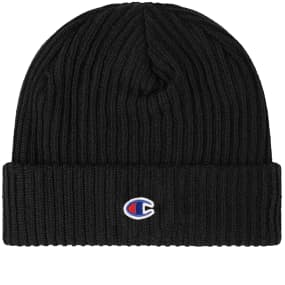 Champion Reverse Weave Logo Beanie by End.