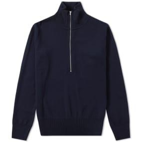 sns-herning-sub-shirt-zip-knit by sns-herning