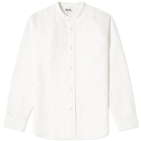 MHL. by Margaret Howell Collarless Shirt