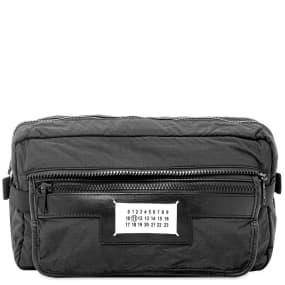 Maison Margiela 11 Packable Nylon & Leather Waist Bag