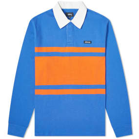 Stussy Long Sleeve Stanley Rugby Shirt