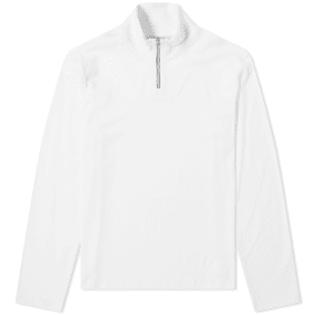 Acne Studios Long Sleeve Evias Half Zip Tee