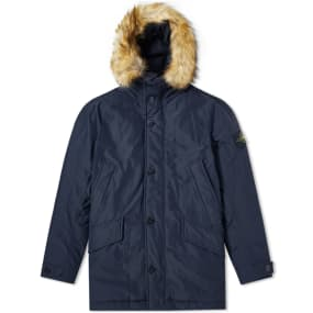 Stone Island Micro Reps Down Filled Parka by Stone Island