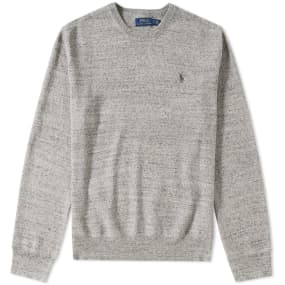 Polo Ralph Lauren Knitted Sports Crew Neck Sweat by Polo Ralph Lauren