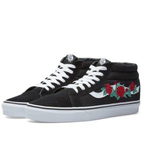Vans Sk8 Mid Reissue Rose Thorns by Vans